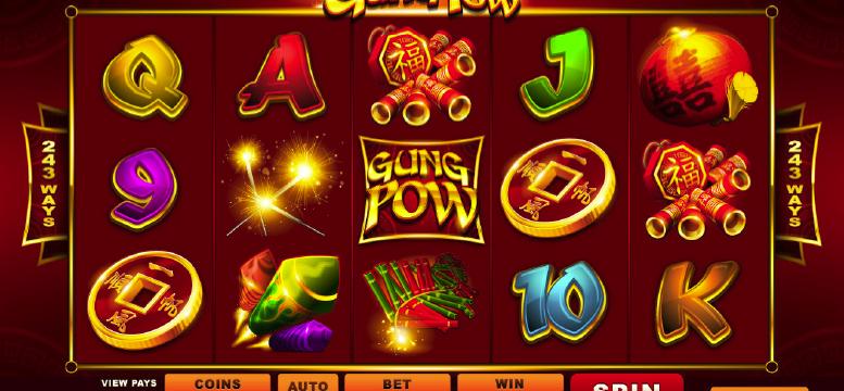 Vil kinesisk nyttår inspirere deg til å spille den nye Gung Pow spilleautomaten?