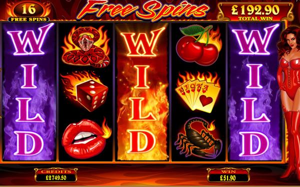 En brennende god spilleautomat å spille i oktober: Red Hot Devil