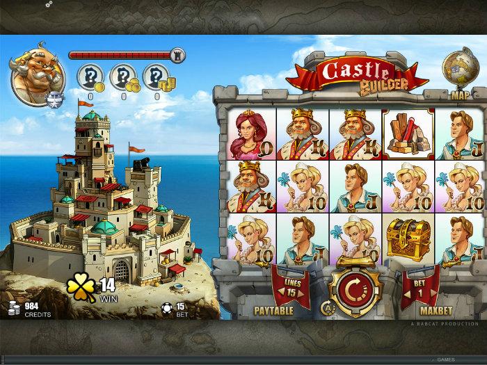 Castle Builder – Spilleautomaten som jevner konkurrentene med jorden